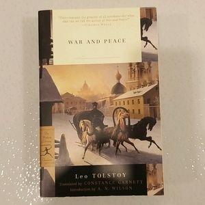 "⭐2/$20⭐Leo Tolstoy ""War and Piece"""